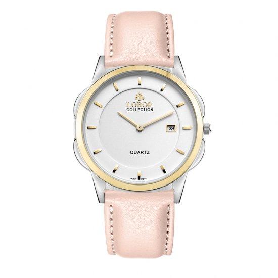 【LOBOR】ロバー CLASSY S LAMBETH PINK 39mm 腕時計