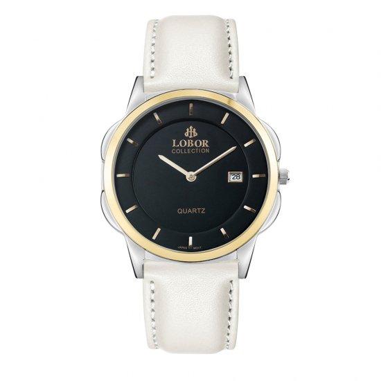 【LOBOR】ロバー CLASSY S MURRAY OFF WHITE 39mm 腕時計
