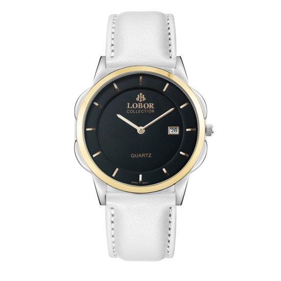 【LOBOR】ロバー CLASSY S MURRAY WHITE 39mm 腕時計