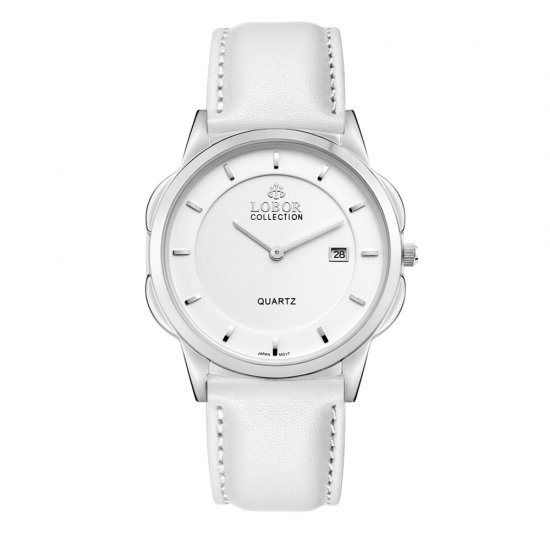 【LOBOR】ロバー CLASSY S NORTHCOTE WHITE 39mm 腕時計