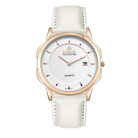 【LOBOR】ロバー CLASSY S OXFORD OFF WHITE 39mm 腕時計