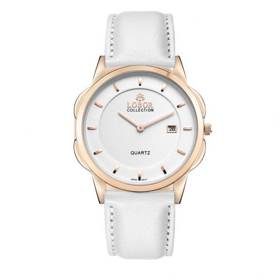【LOBOR】ロバー CLASSY S OXFORD WHITE 39mm 腕時計