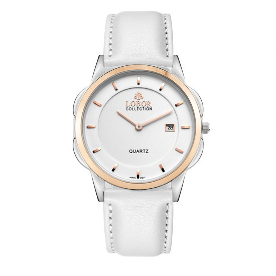 【LOBOR】ロバー CLASSY S SHEFFIELD WHITE 39mm 腕時計