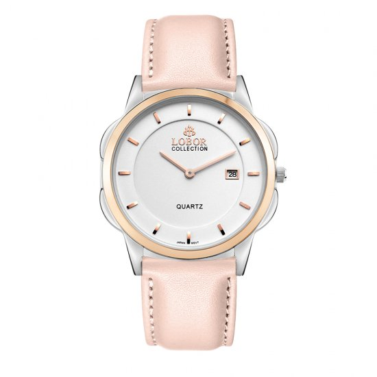 【LOBOR】ロバー CLASSY S SHEFFIELD PINK 39mm 腕時計