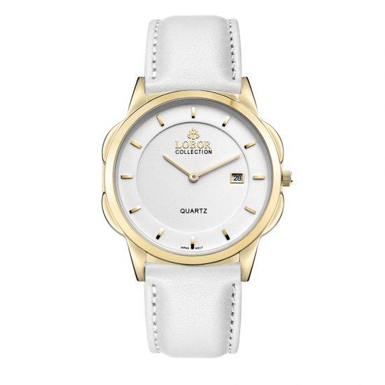 【LOBOR】ロバー CLASSY S STAVELEY WHITE 39mm 腕時計