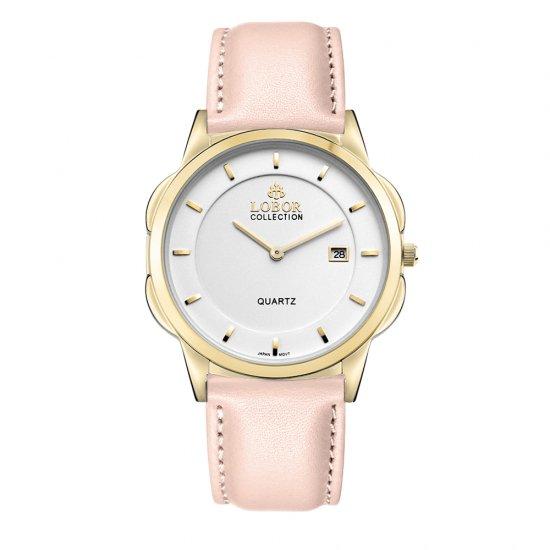 【LOBOR】ロバー CLASSY S STAVELEY PINK 39mm 腕時計