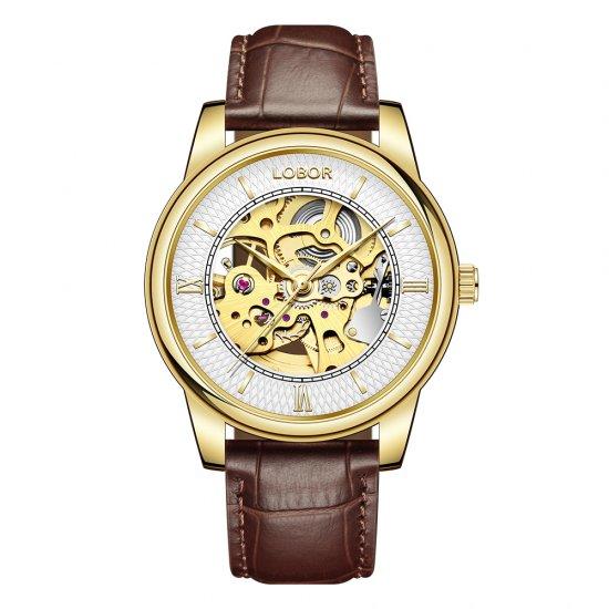 【LOBOR】ロバー DYNASTY AUGUSTUS BROWN 腕時計