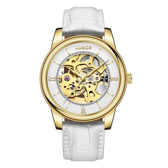 【LOBOR】ロバー DYNASTY AUGUSTUS WHITE 腕時計