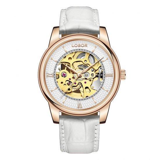 【LOBOR】ロバー DYNASTY CHARLEMAGNE WHITE 腕時計
