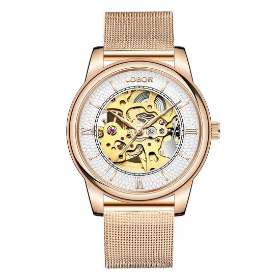 【LOBOR】ロバー DYNASTY CHARLEMAGNE MESH 腕時計