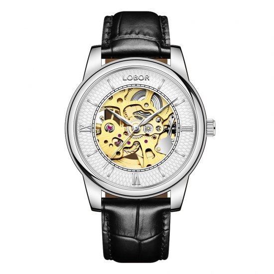 【LOBOR】ロバー DYNASTY CONSTANTINE BLACK 腕時計