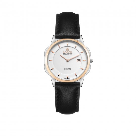 【LOBOR】ロバー【広瀬アリスさん着用モデル】CLASSY S SHEFFIELD BLACK 32mm 腕時計