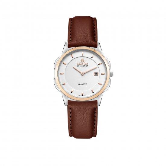 【LOBOR】ロバー CLASSY S SHEFFIELD BROWN 32mm 腕時計