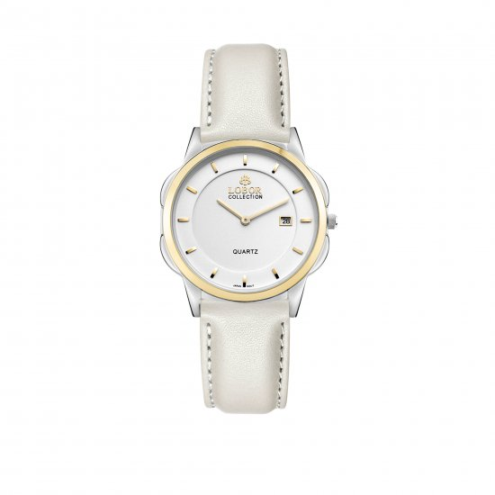 【LOBOR】ロバー CLASSY S LAMBETH OFF WHITE 32mm 腕時計