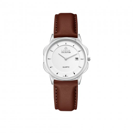 【LOBOR】ロバー CLASSY S NORTHCOTE BROWN 32mm 腕時計