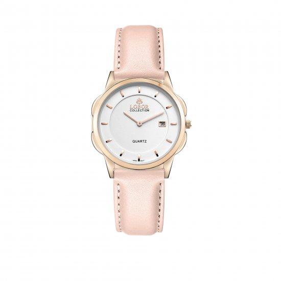 【LOBOR】ロバー CLASSY S OXFORD PINK 32mm 腕時計