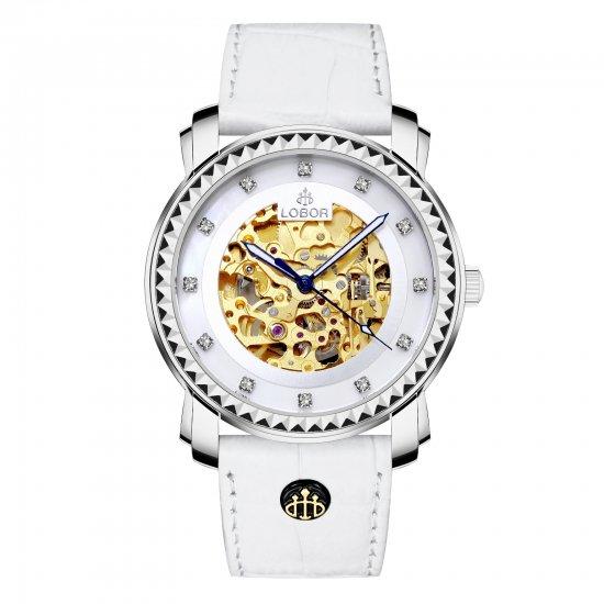 【LOBOR】ロバー PREMIER STAUNTON WHITE 40mm 腕時計