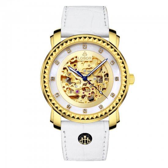 【LOBOR】ロバー PREMIER JARDINE (WHITE) 40mm 腕時計