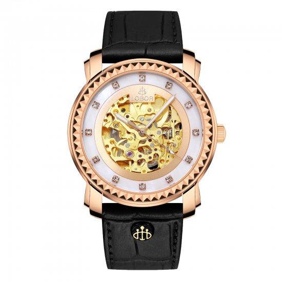 【LOBOR】ロバー PREMIER CORNWALL BLACK 40mm 腕時計