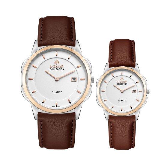 【LOBOR】ロバー CLASSY S SHEFFIELD BROWN PAIR 腕時計
