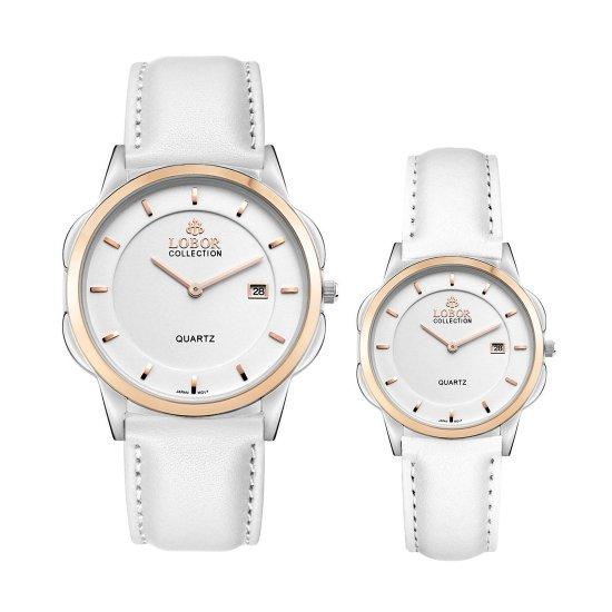 【LOBOR】ロバー CLASSY S SHEFFIELD WHITE PAIR 腕時計