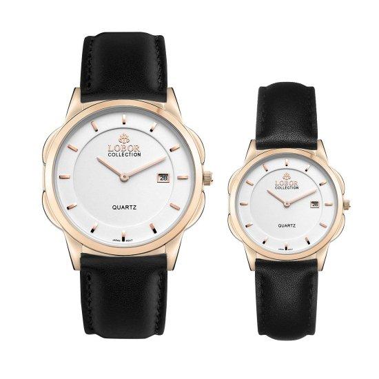 【LOBOR】ロバー CLASSY S OXFORD BLACK PAIR 腕時計