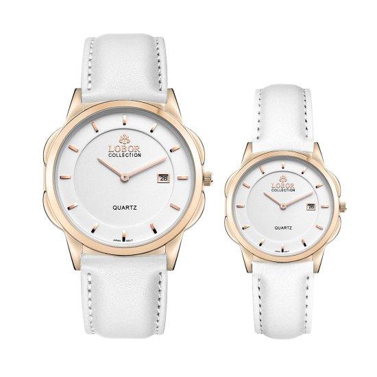 【LOBOR】ロバー CLASSY S OXFORD WHITE PAIR 腕時計