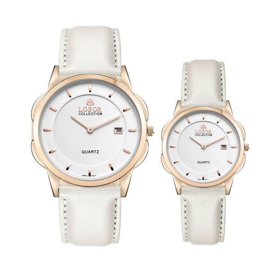 【LOBOR】ロバー CLASSY S OXFORD OFF WHITE PAIR 腕時計
