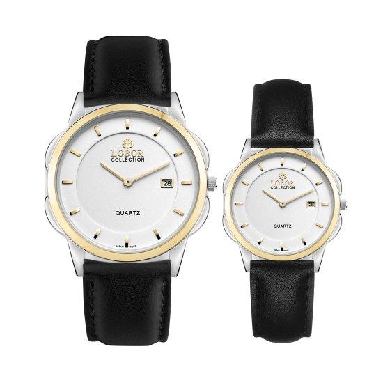 【LOBOR】ロバー CLASSY S LAMBETH BLACK PAIR 腕時計