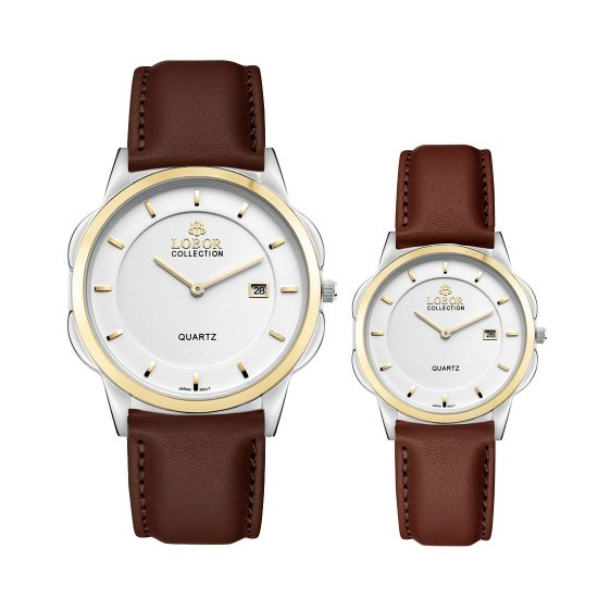 【LOBOR】ロバー CLASSY S LAMBETH BROWN PAIR 腕時計