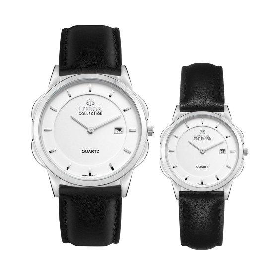 【LOBOR】ロバー CLASSY S NORTHCOTE BLACK PAIR 腕時計