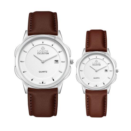 【LOBOR】ロバー CLASSY S NORTHCOTE BROWN PAIR 腕時計