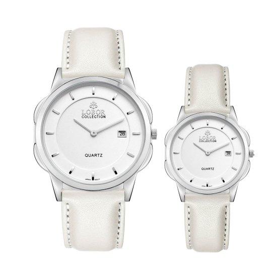 【LOBOR】ロバー CLASSY S NORTHCOTE OFF WHITE PAIR 腕時計