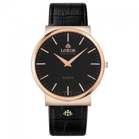 【LOBOR】ロバー NATTY BREWIN BLACK 腕時計