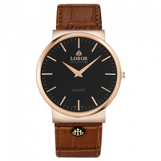 【LOBOR】ロバー NATTY BREWIN BROWN 腕時計