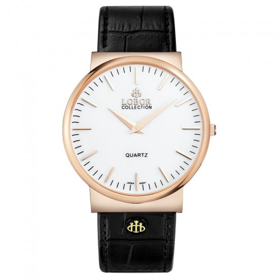 【LOBOR】ロバー NATTY HEREFORD BLACK 腕時計