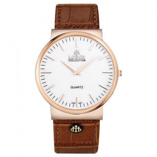 【LOBOR】ロバー NATTY HEREFORD BROWN 腕時計