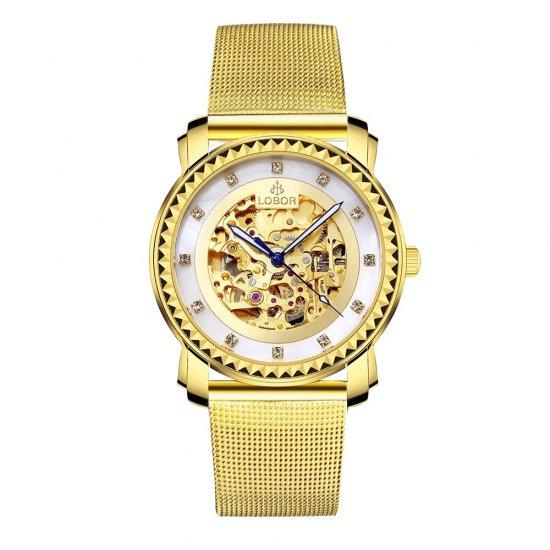 【LOBOR】ロバー PREMIER JARDINE MESH 40mm 腕時計