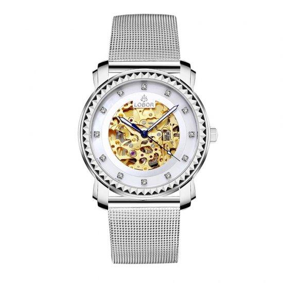 【LOBOR】ロバー PREMIER STAUNTON MESH 40mm 腕時計