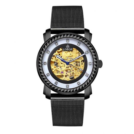 【LOBOR】ロバー PREMIER DUDDELL MESH 40mm 腕時計