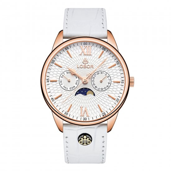 【LOBOR】ロバー MERIDIAN PERIHELION WHITE 40mm 腕時計