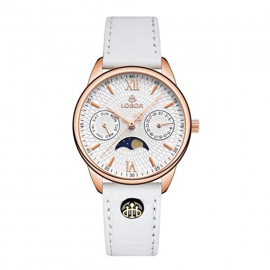 【LOBOR】ロバー MERIDIAN PERIHELION WHITE 33mm 腕時計