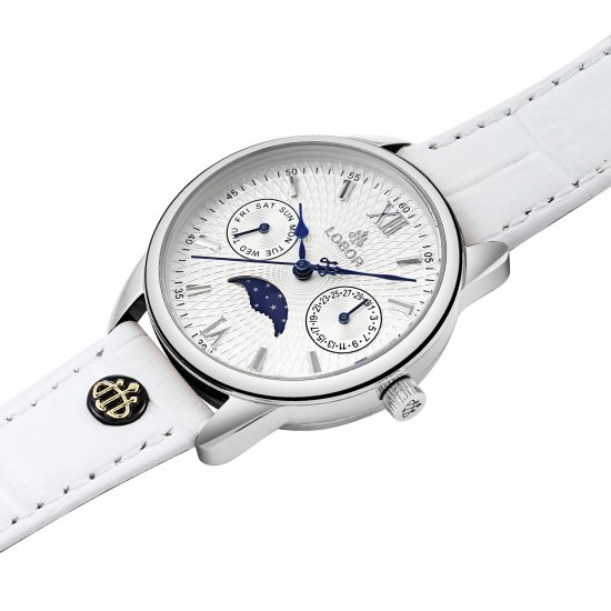 Lobor ロバーウォッチ MERIDIAN COLLECTION MERIDIAN EQUINOX WHITE 33mm