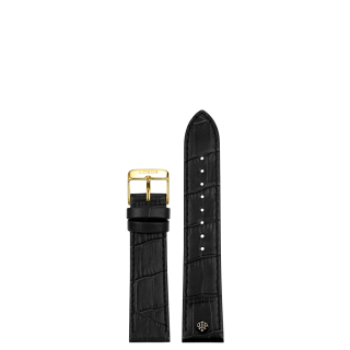 BLACK STRAP 16MM(GOLD)