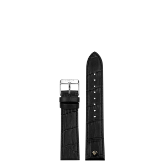 BLACK STRAP 16MM(SILVER)