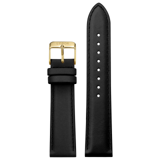 BLACK STRAP 20MM(GOLD)