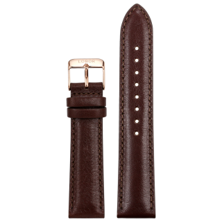 BROWN STRAP 20MM(ROSE)