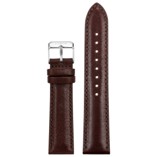 BROWN STRAP 20MM(SILVER)