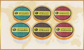 (こだわり産地のカカオマス使用)チョコシルカカオアイスクリーム 6個セット