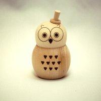 七味入れふくろう OWL